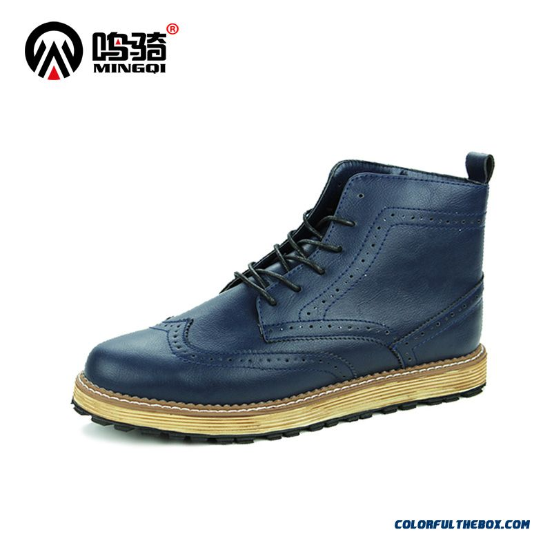 Warm Autumn And Winter Men's Casual Shoes Korean Version Of Martin Boots