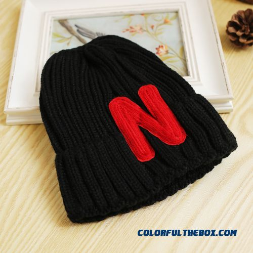 Western Style Letters Knitted Hat Kids Lovely Kids Wool Cap Boys And Girls Warm Hat Newarrival Accessories