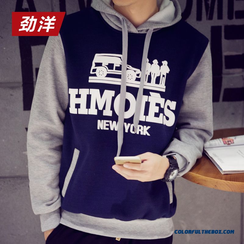 Wholesale Men Pullover Hoodies Casual Clotthing Outerwear Cheap