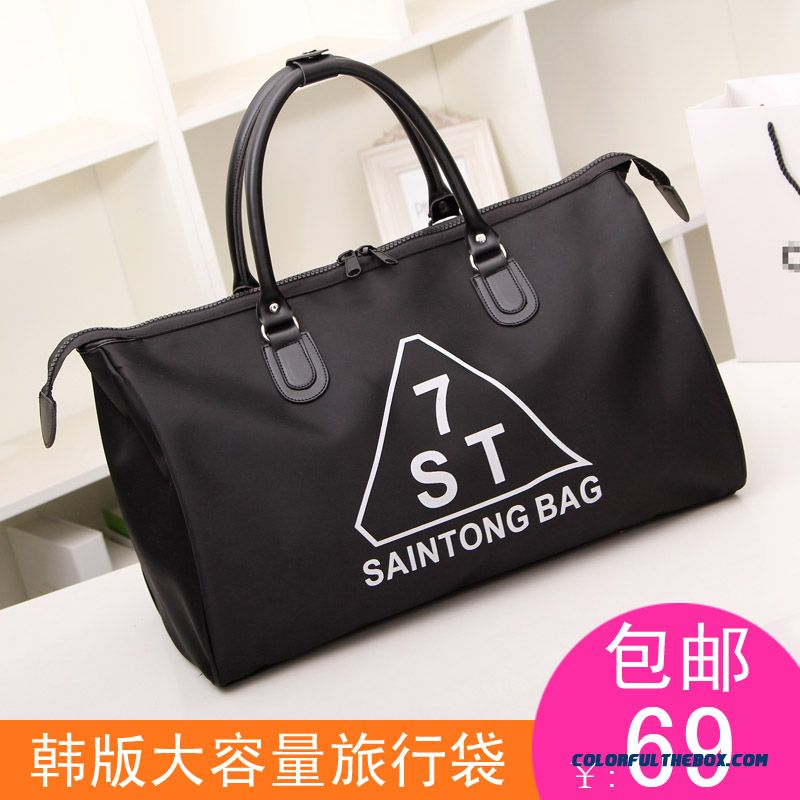 Wholesale Price Sales Men's Bags Of Large Capacity Black Travel Bags Waterprof Utility
