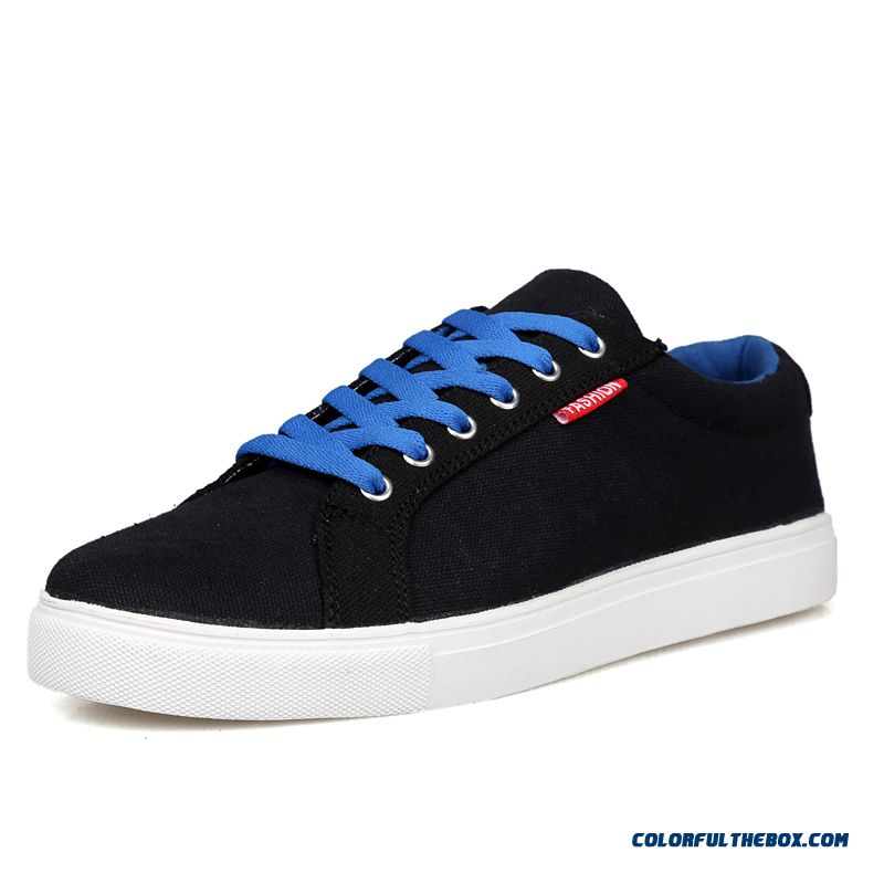Winter Canvas Casual Shoes Lightweight Breathable For Men