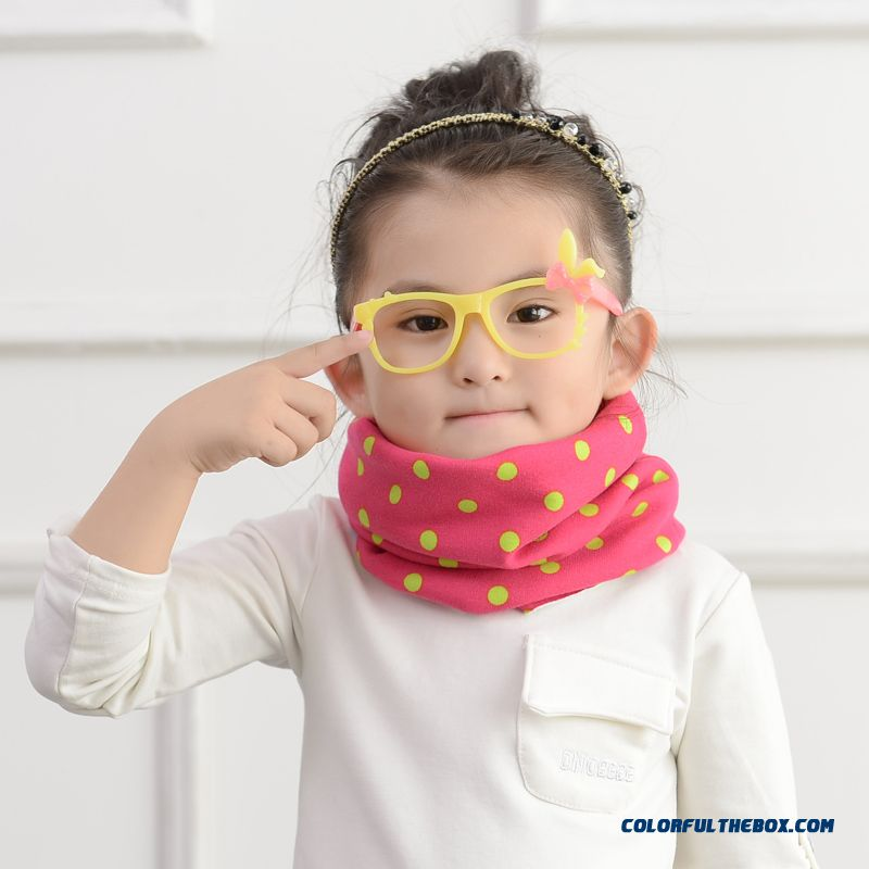 Winter Scarves Used By Adult And Kids Boys And Girls Cartoon Babies Double Sets Of Head Scarves Neck Wrap