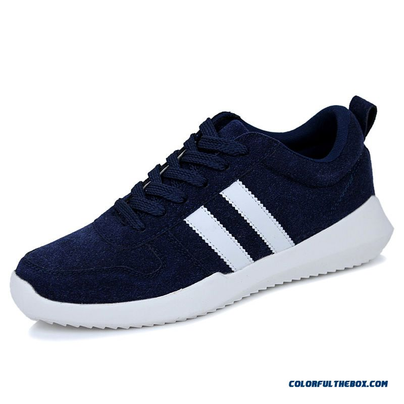 Winter Sports And Casual Teenager Suede Men's Running Shoes