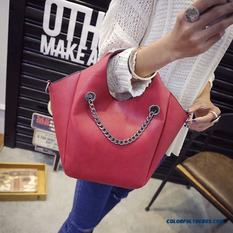 Women Bags New Style Chain Fashionable Dirtproof Top-handle Bags