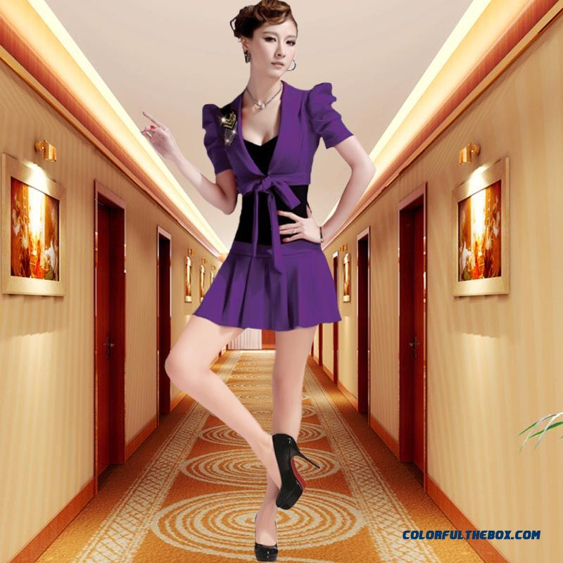 Women Dresses Sexy Summer Fashion Overalls Purple Hot Selling