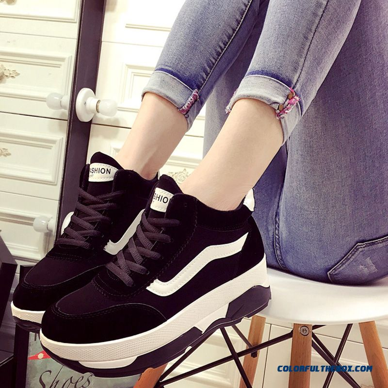 Women Fashion Casual Sports Shoes Running Thick Bottom Tide