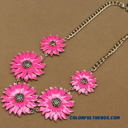 Women Fine Jewelry Supply Wholesale Primer Big Names Flowers And Jewelry Brand Free Shipping Necklace - more images 2
