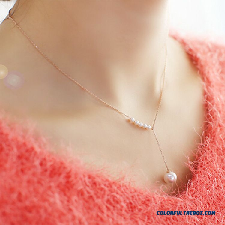 Women New Fashion Jewelry Short Clavicle Women Hanging Ornaments Wholesale Shipping