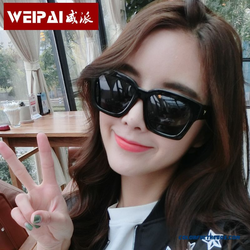 Women New Fashion Tide Big Framed Round Face Dark Glasses Myopia Sunglasses Hot Summer Accessories
