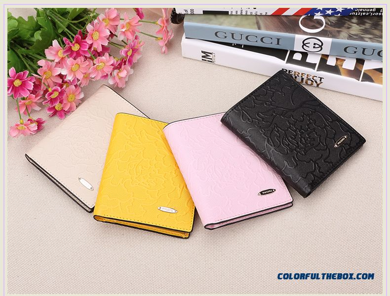 Women Purse Genuine Leather Wallet Short Cowhide Wallets Thin Section Women Quality Bags