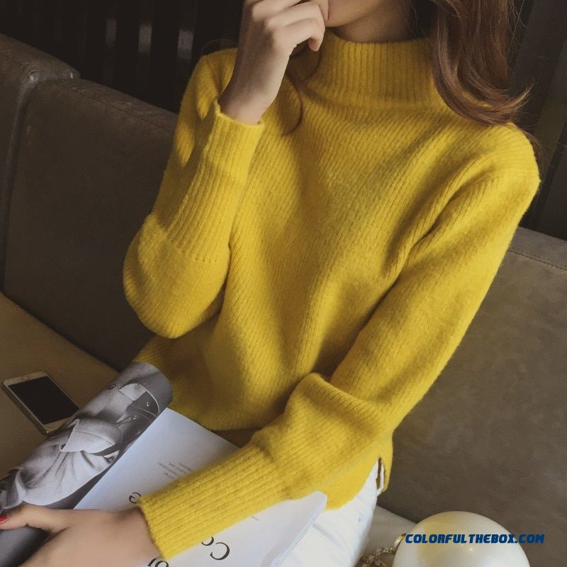 Women Turtleneck Winter Sweater Women 2017 Long Sleeve Knitted Women Sweaters And Pullovers Female Jumper Tricot Tops 013