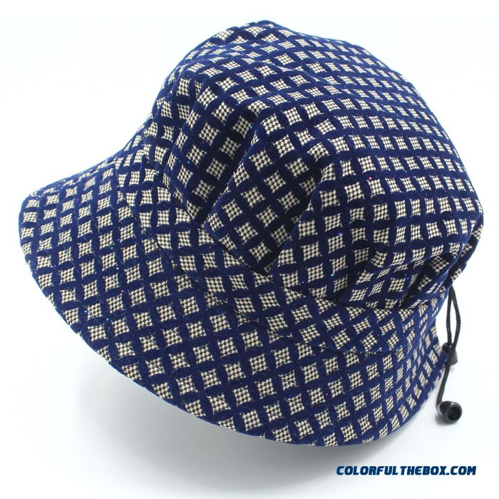 Women's Accessories Thin Section Plaid Elderly Millinery Tourism Caps Special Offer In Spring