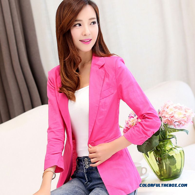 Women's Coat Fluid Systems Suit Three Quarter Sleeve Slim Small Suit