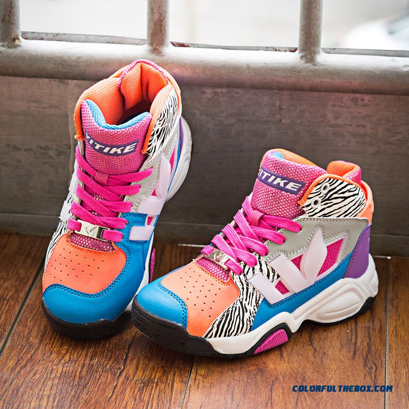 Young Students Boys Basketball Shoes Free Shipping Kids Shoes - more images 4