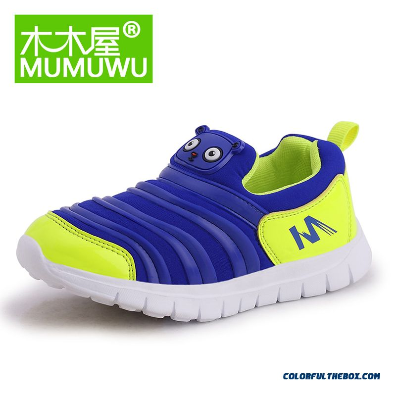 Youth Energetic Fall New Boys And Girls Sports Shoes Caterpillar Shoes Autumn Kids Running Shoes